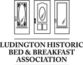 Ludington Historic Bed and Breakfast Association Logo