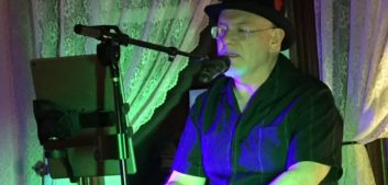 Terry Altman plays keyboard and sings.