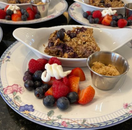 baked oatmeal for breakfast